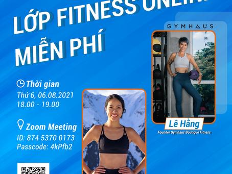 Lớp fitness online miễn phí - GymHaus & Decathlon