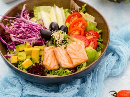 Hướng dẫn chế biến làm Salad cá hồi - GymHaus