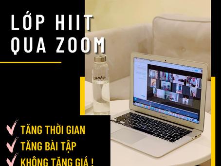 Tập HIIT online tại nhà mùa dịch - GymHaus