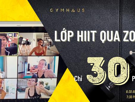 Tập Hiit 30 phút online cùng GymHaus