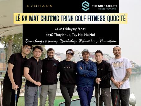 Lễ ra mắt chương trình Golf Fitness - GymHaus