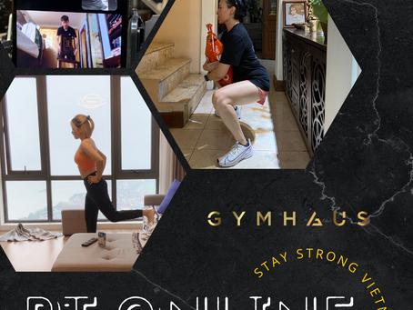 Tập PT online  - Không ngại Cô vy/ GymHaus