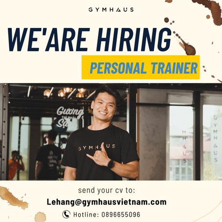 GymHaus tuyển dụng HLV cá nhân tại Hà Nội