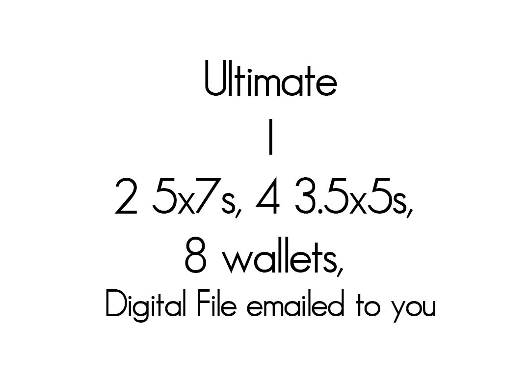 I Ultimate Package 89.99 + tax and servi