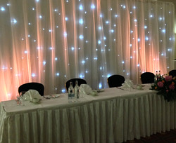Starlight backdrop Hilton