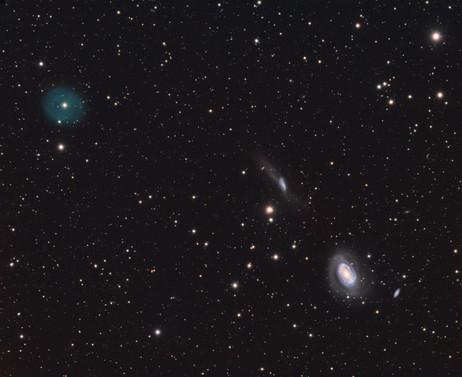 LoTr 5 et ses voisines galactiques, NGC 4725 & NGC 4747