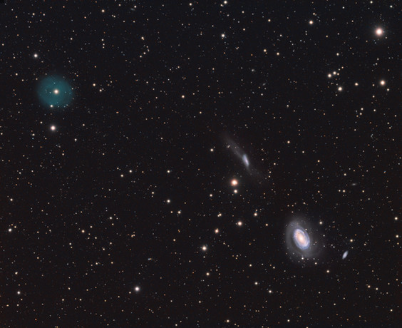 LoTr 5 and its galactic neighbors, NGC 4725 & NGC 4747