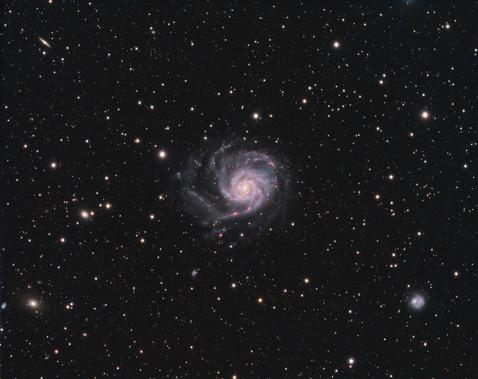 M101 / NGC 5457 - Galaxie du Moulinet