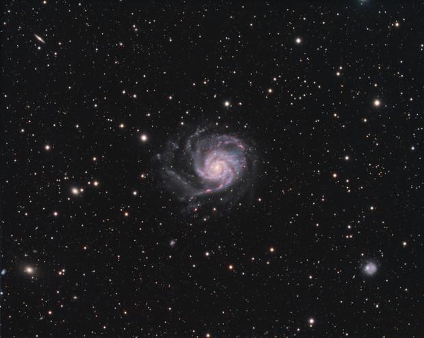 M101 / NGC 5457 - Pinwheel Galaxy