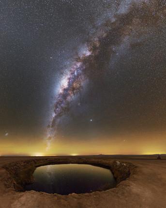 La plume étoilée de l'Atacama