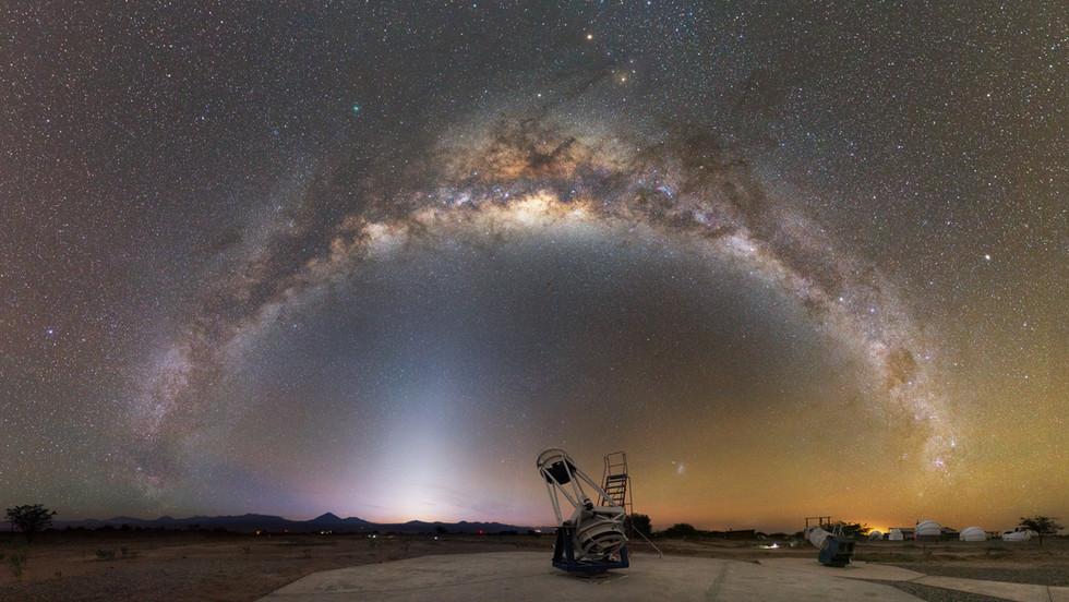 Arche aux télescopes