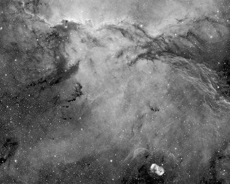 NGC 6188 - The fighting Dragons of Ara (Ha version)