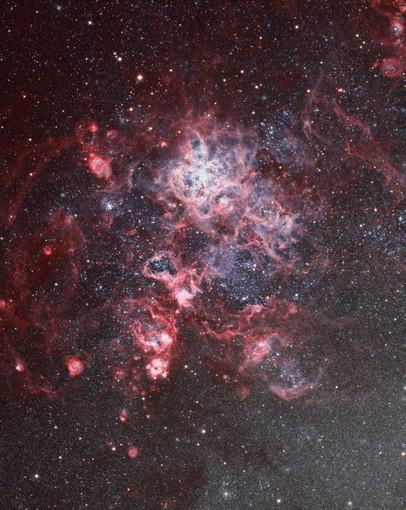 NGC 2070 - Nébuleuse de la Tarentule et sa région