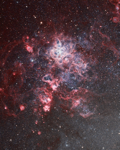 NGC 2070 - Tarantula Nebula and its region