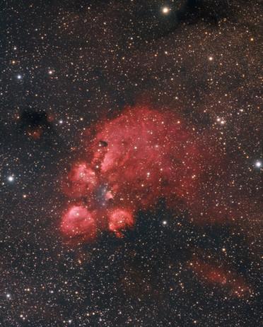NGC 6334 - Cat's Paw Nebula