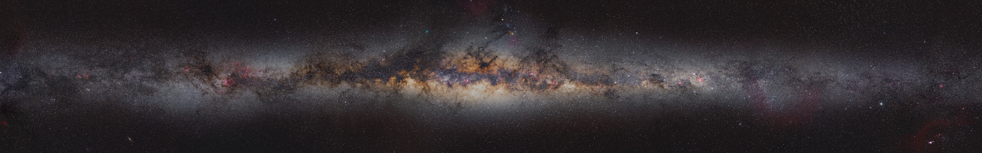 Panorama of the Milky Way 360 °