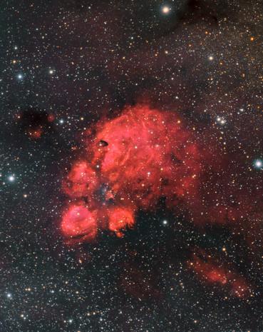 NGC 6334 - Nébuleuse de la Patte de Chat
