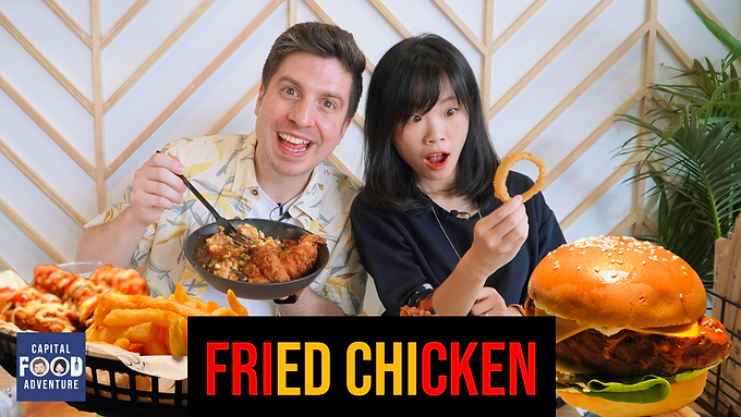 Extra Crispy Finger-Licking Fricken Fried Chicken