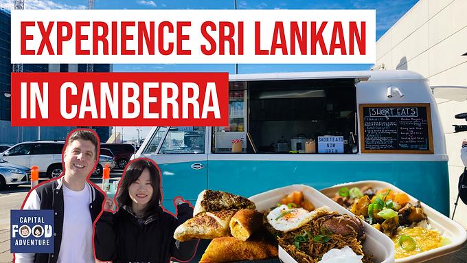 SHORT EATS Sri Lankan Van