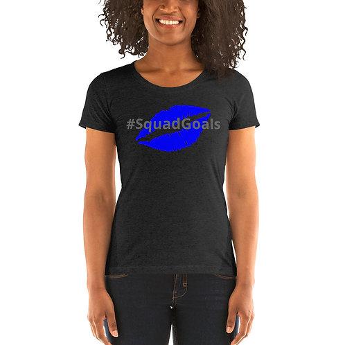 Ladies' short sleeve t-shirt -#Squadgoals
