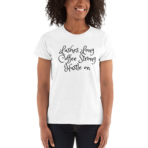 Ladies' T-shirt Lashes