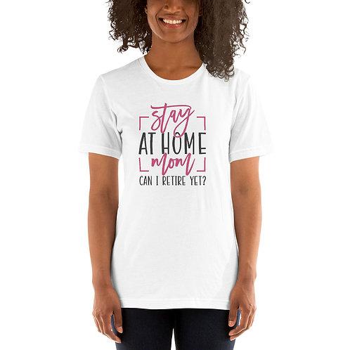 Short-Sleeve Unisex T-Shirt- SAHM