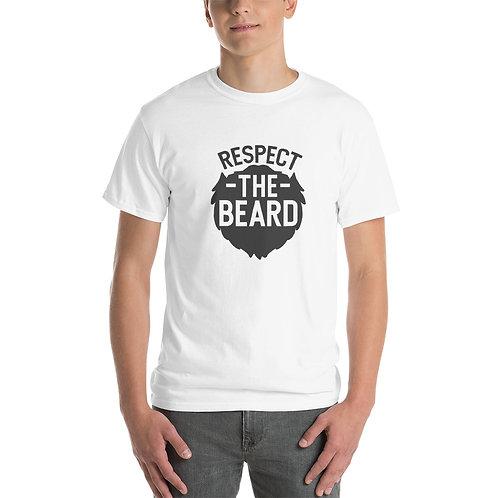 Short Sleeve T-Shirt- Respect the beard