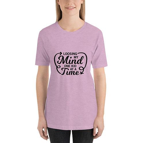 Short-Sleeve Unisex T-Shirt - Loosing my mind
