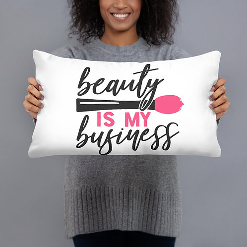 Basic Pillow- Beauty is my business