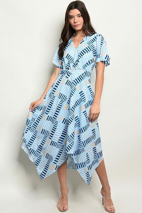 Womens Print Dress