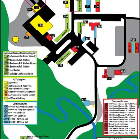 AET Building Map - Clink Link Below for Larger Map