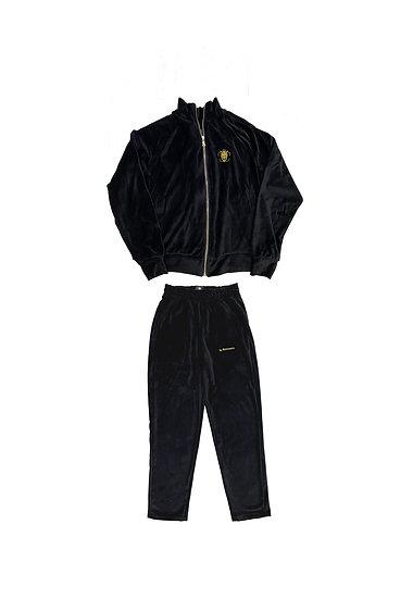 Velour suit