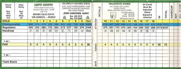 1986 MO Scorecard, Front, Cropped.jpg