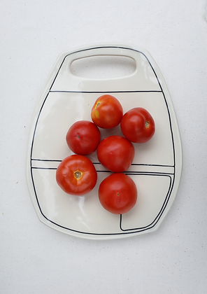 Easy Pocket Apron Platter