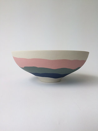 Ridge Low Bowl