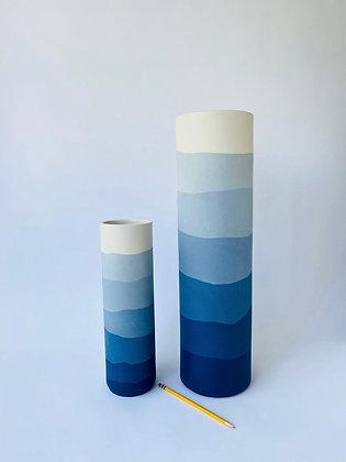 Mazerine Ridge Vase