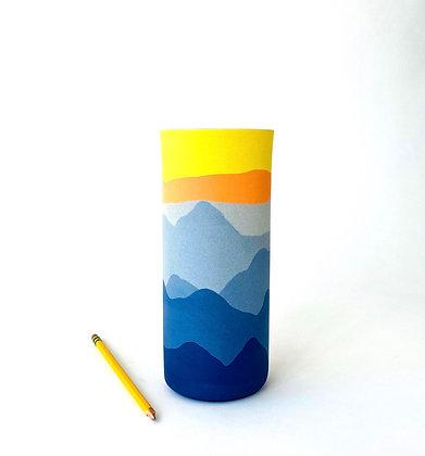"Blue Ridge Vase 8"""