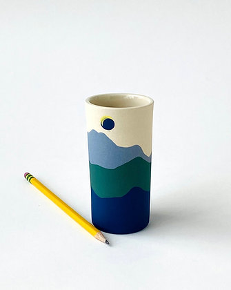 Short Acadia Bud Vase