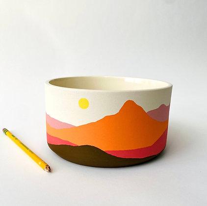 Sonora Sunset Serving Bowl