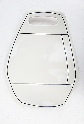 Sideline Apron Platter