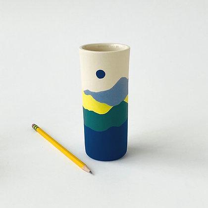 Tall Ridge Bud Vase