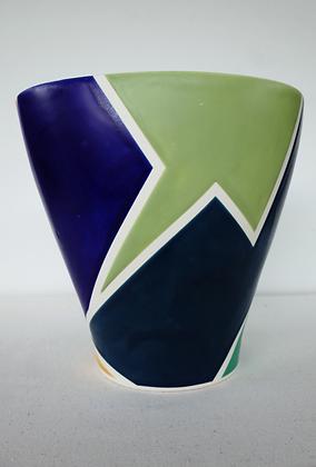 Sector Fluted Vase