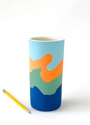 """Ridge Vase 7"""""""