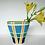 Thumbnail: Green Gladiolus Fluted Vase