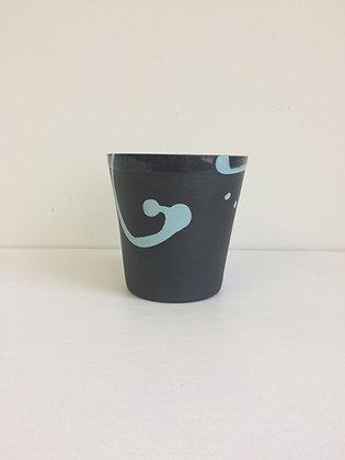 Black & Turquoise Anima Tumbler