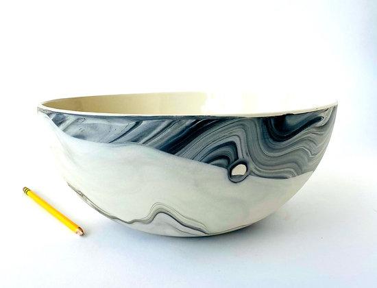 Grey Agate Big Bowl