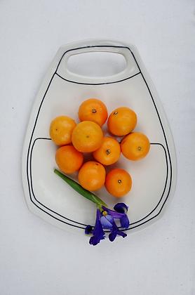 Wide Open Apron Platter