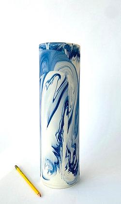Mazerine Marbled Vase