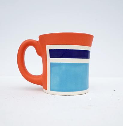 Lit Cobalt Diner Mug