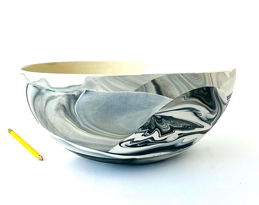 Grey Agate Big Bowl
